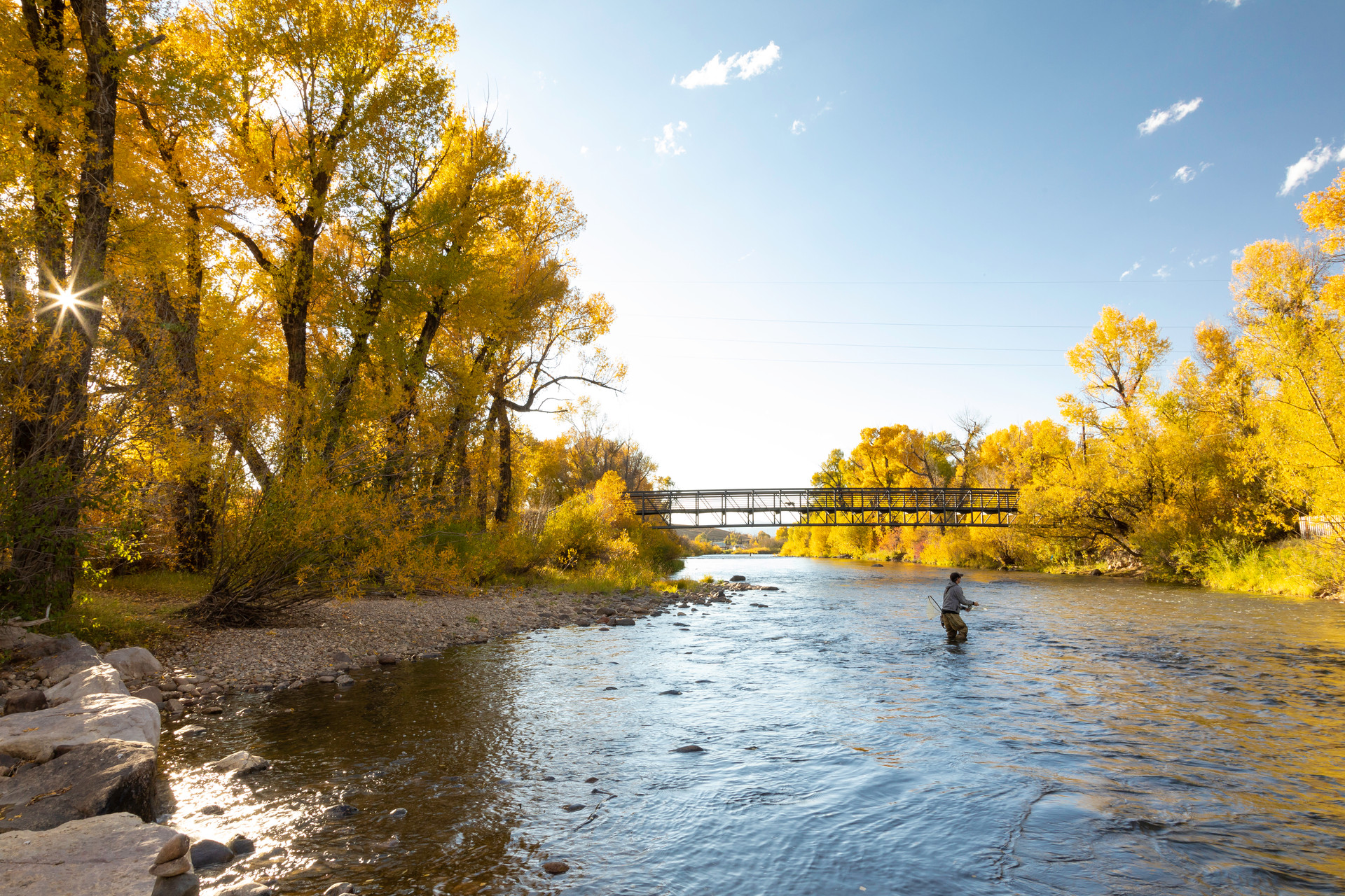 Fly Fishing The Golden Yampa