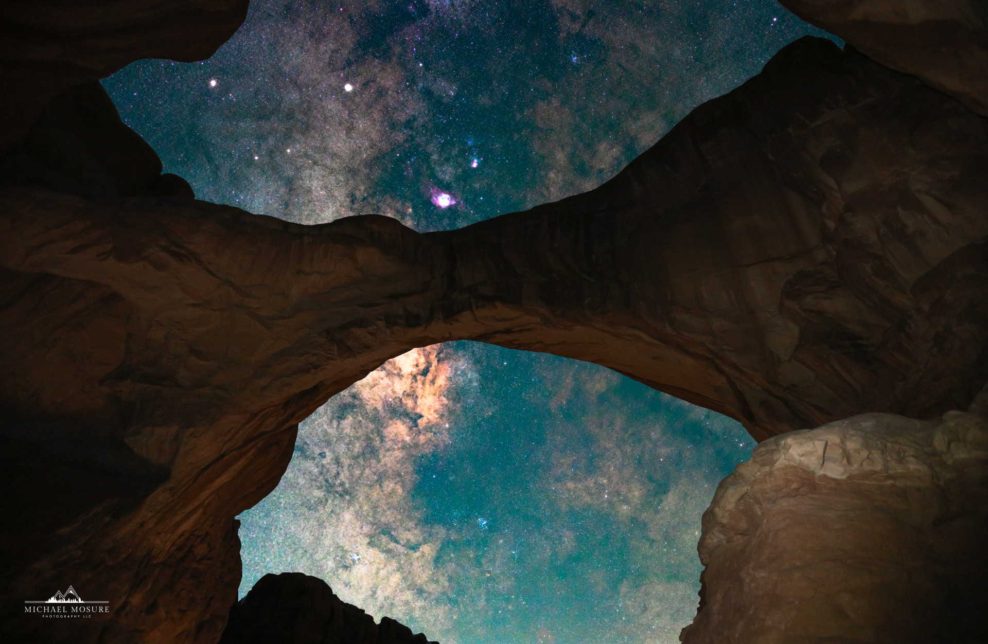 Double Arch, Galactic Core