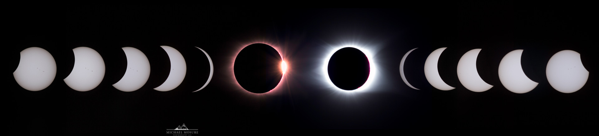Solar Eclipse Totality Stages, SC