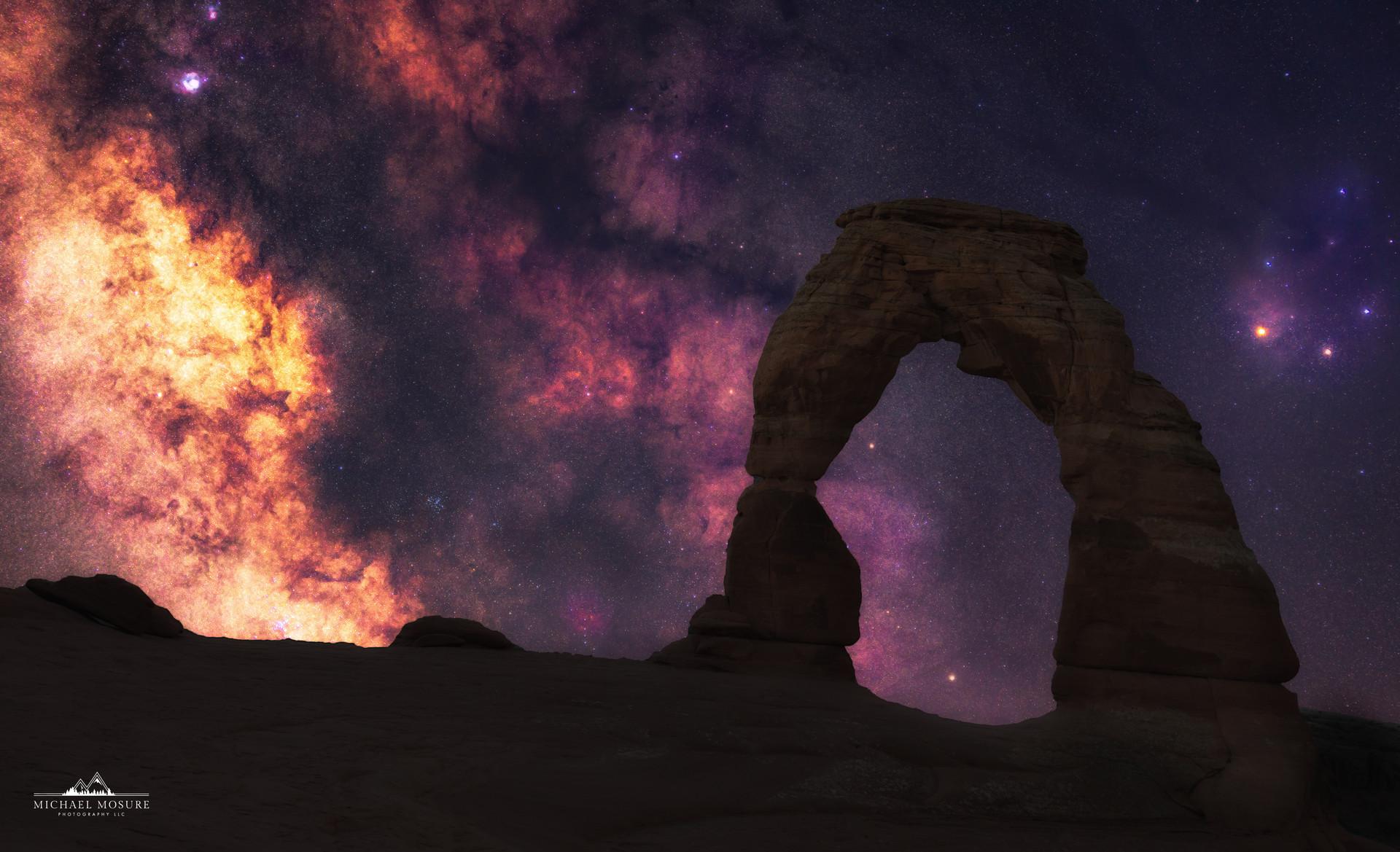 Delicate Arch, Galactic Core