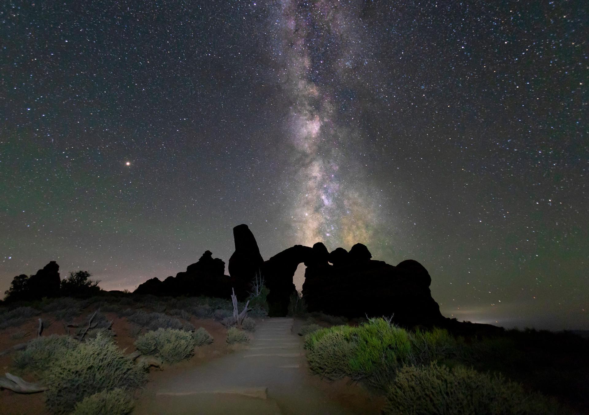 Turret Arch Milky Way