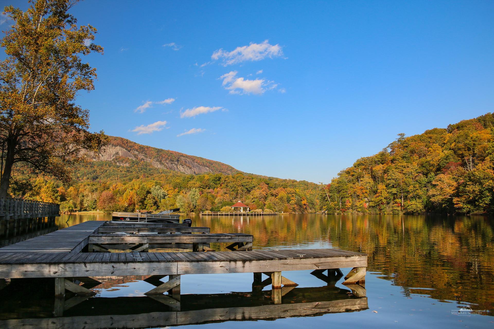 Lake Lure in Autumn