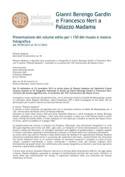Agarttha Arte - Palazzo Madama 2013