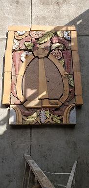 Architectural Terracotta Façade - Ornamental Fire Urn