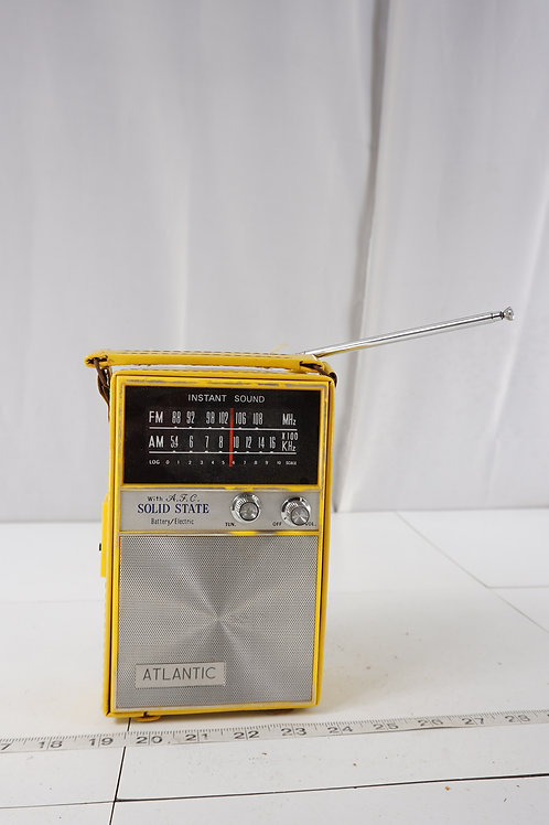 Atlantic Transistor Radio With A F C Solid State - Asis