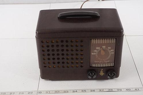 1940s Emerson Bakelite Tube Radio- Asis