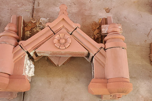 Architectural Red Terracotta - Ornamental Roof Finial