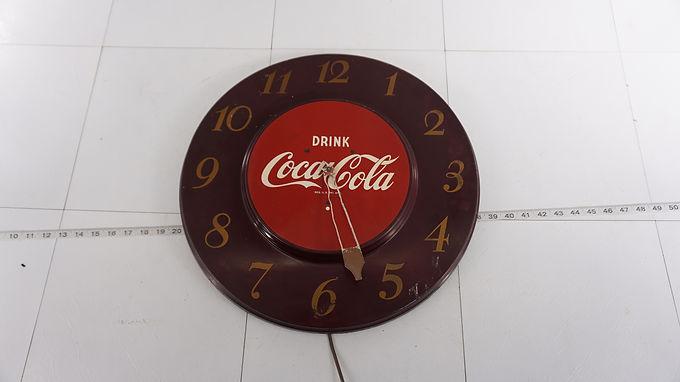 1940s Coca Cola Clock Face