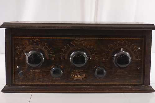 1926 Airline Enchanter Table Model Radio Mfg By Montgomery Ward Co