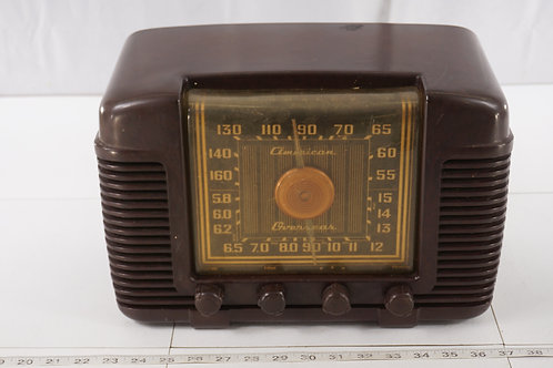 1946 Crosley Tube Radio Model 66 T A - American Overseas - W