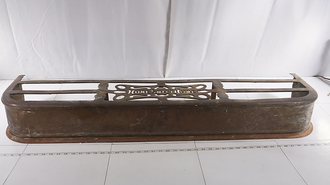 Brass Fire Place Fender - Home Sweet Home