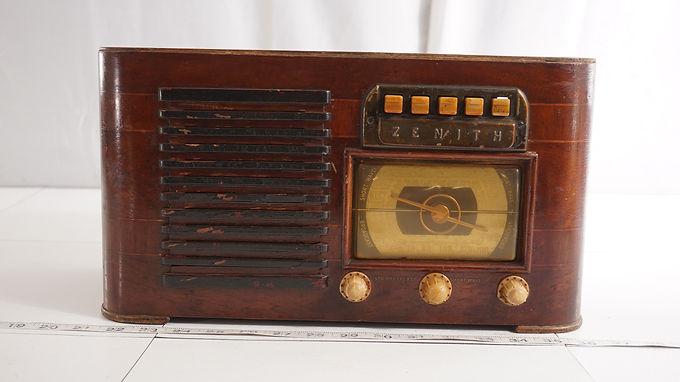 1941 Zenith Shortwave Tube Radio Model 6 S527 - Asis