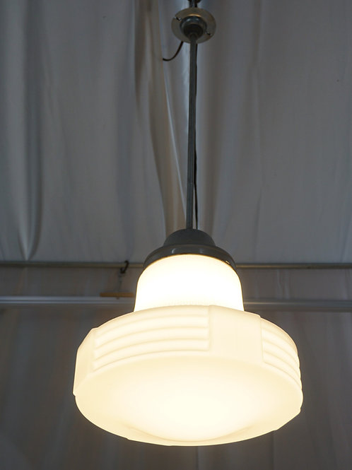 1930s Art Deco Pendant Light Fixture