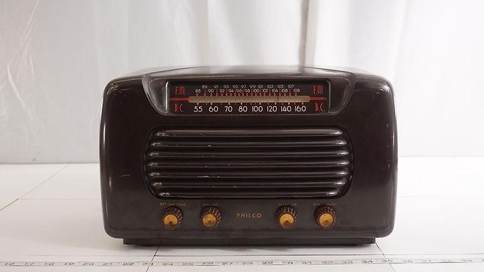 1947 Philco Fm - Bc (broadcast) Radio Model 48-472-121 - Asi