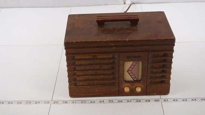 1940s R C A Victor Tube Radio Model P T X-50 - Works And No Cord