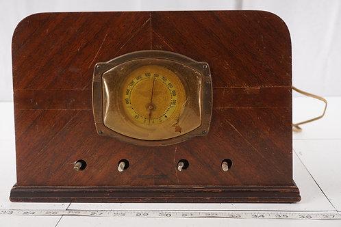 1938 Stewart- Warner Tube Radio Model R-18- A - Asis