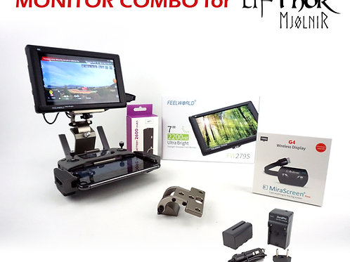 HDMI Monitor Combo for LifThor Mjolnir