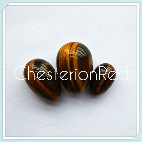 Tigers Eye Yoni Egg