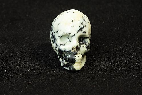 Howlite Skull