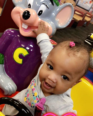 My grand baby don't fool wit them rats!