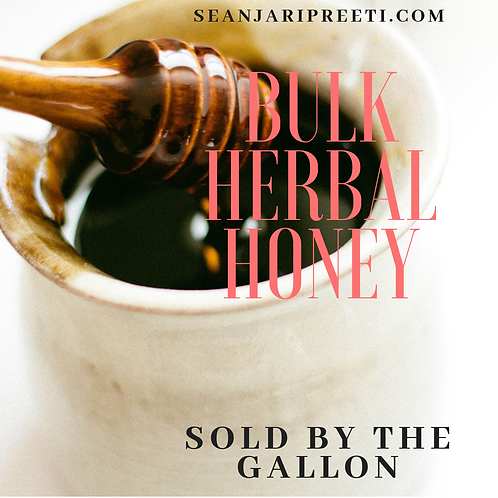 Bulk Herbal Honey 33oz