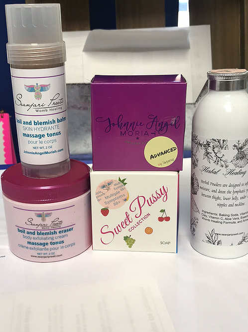 5 Skin Exfoliation and Protection Set