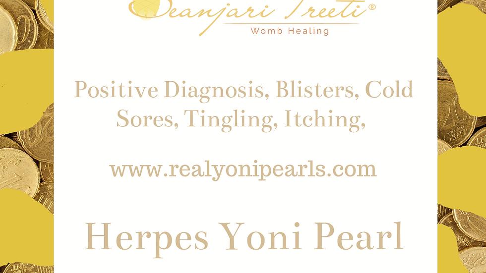 HERPES SIMPLEX VIRUS   CREAMING   OUTBREAKS   BLISTERS YONI PEARL
