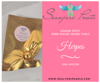 HERPES SIMPLEX WOMB HEALING VAGINAL PEARL