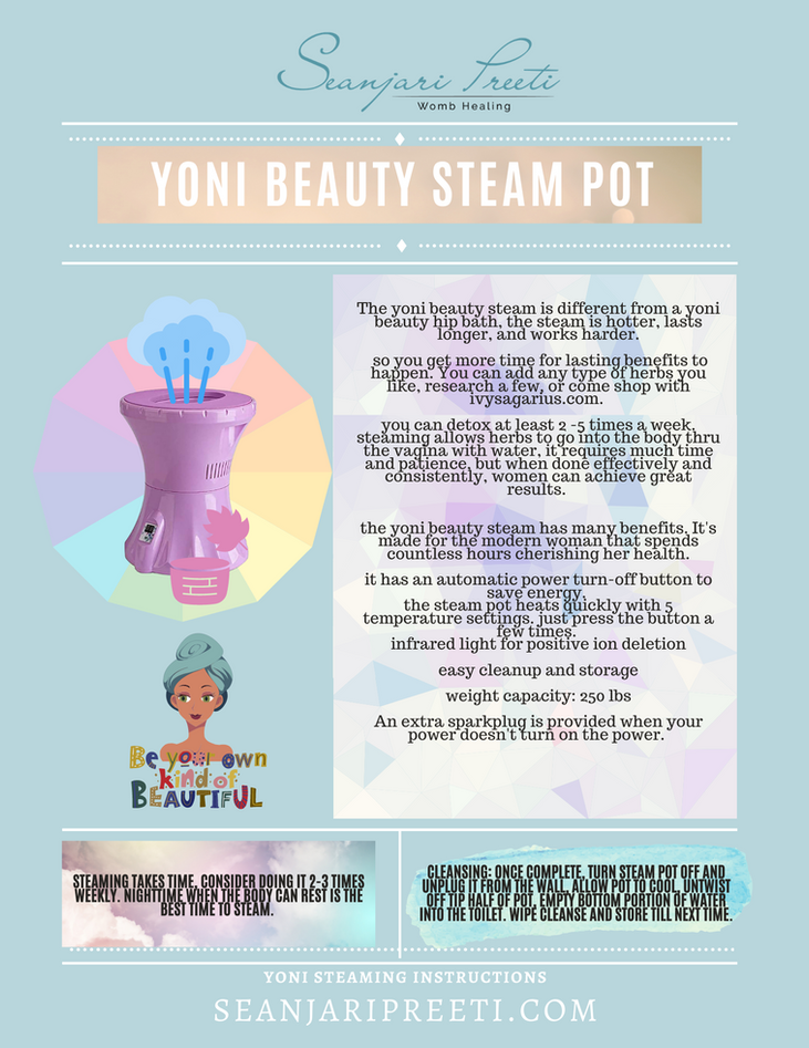 Yoni Beauty Steaming Styles
