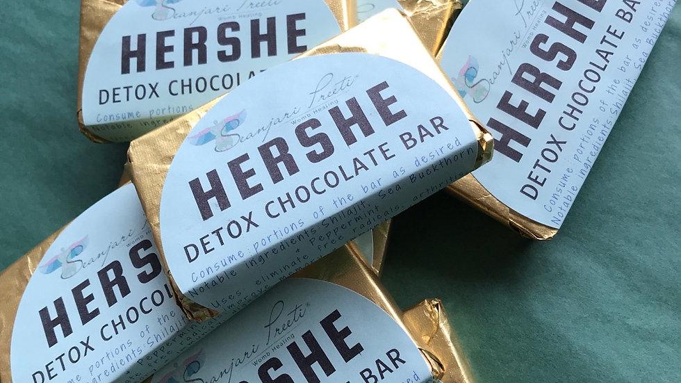 Womens Detox Chocolate Bar
