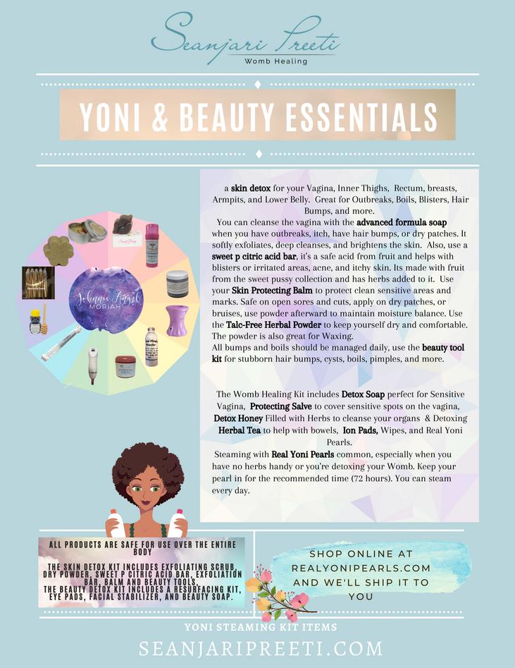Beauty Vajacial Steam Essentials