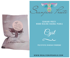 PCOS WOMB HEALING VAGINAL PEARL