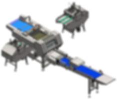 P30 Dizgi Makinası Çıkış Hasırlı Komple_