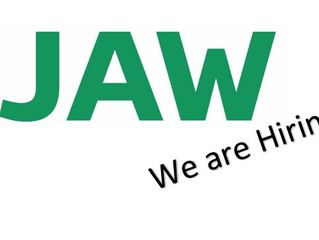 JAW are Hiring!