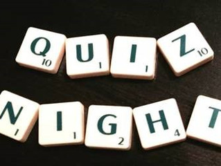JAW Sustainability Charity Pub Quiz - 10th April 2019!