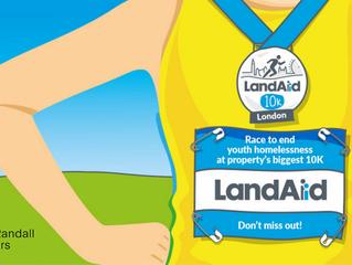 We're running the LandAid 10K
