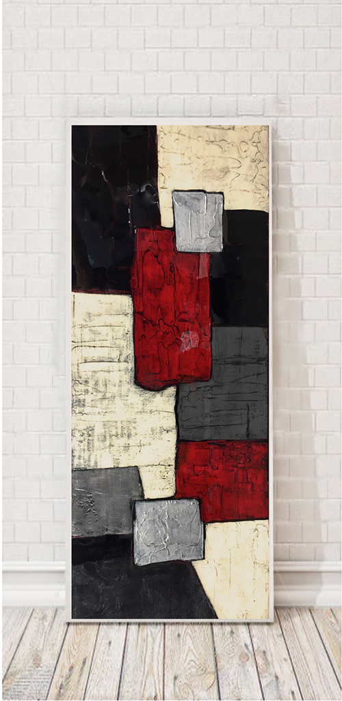 Zocchi in Red with Silver - SOLD