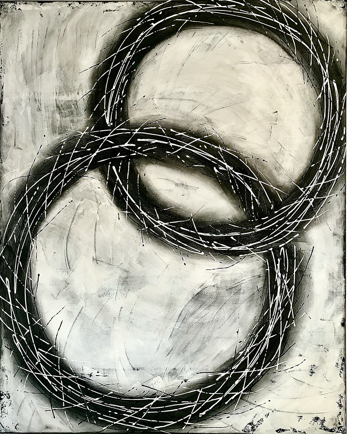 Cerchi di Vita by Cinzia Ferda 60x48x2