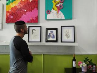 Showing at Hip Pop Art