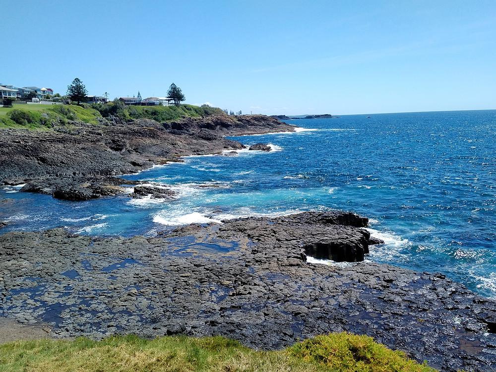 One of the many beautiful Australian coastlines, Little Blowhole