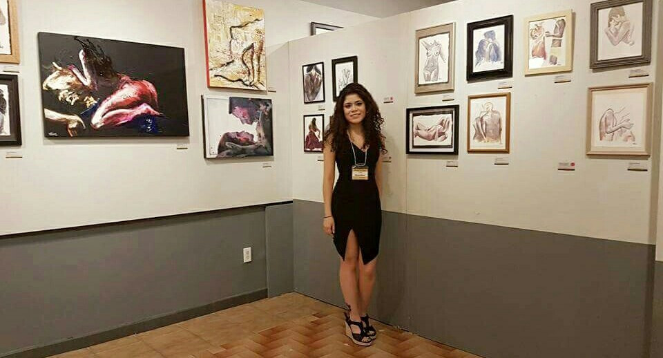 Veronica Blanco Moments in Love solo art show