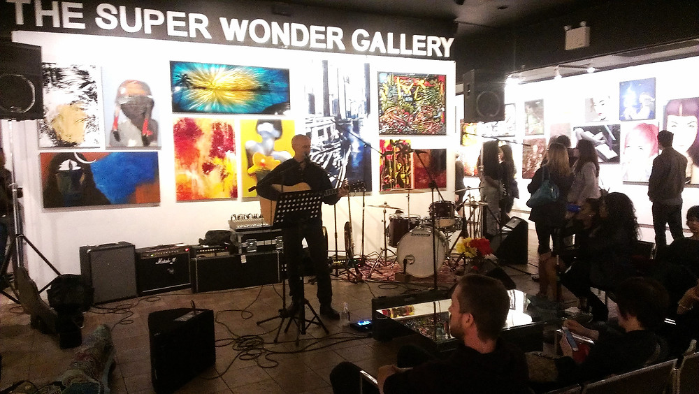 BOLD at the Super Wonder Gallery