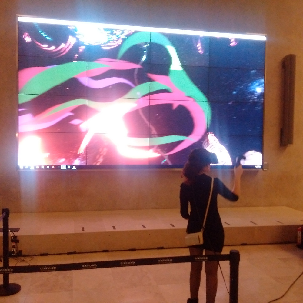 Veronica Blanco Virtual Reality Painting by We Paint Live