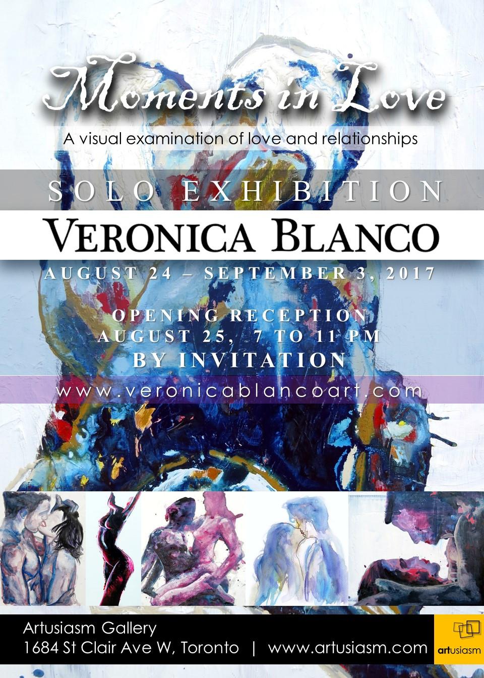 Veronica Blanco Moments in Love Solo Show