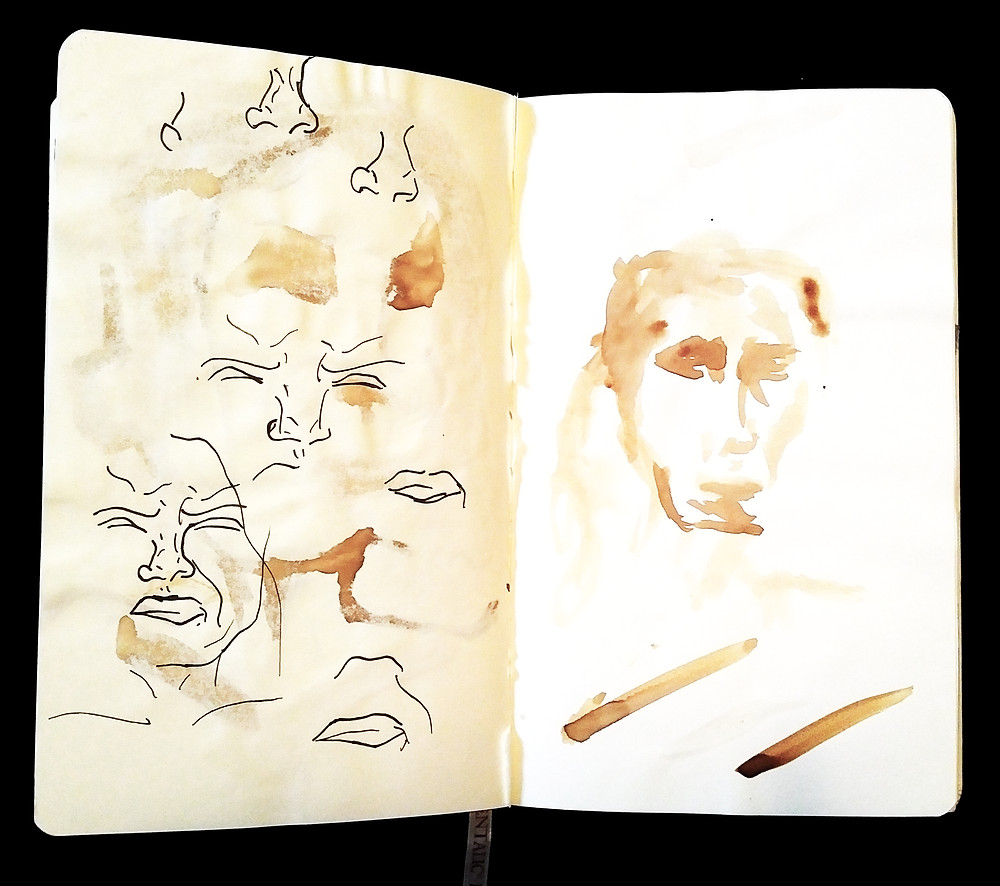 Veronica Blanco Art School Sketchbook
