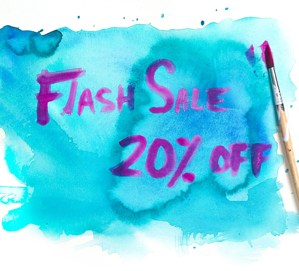 FLASH SALE 20% OFF