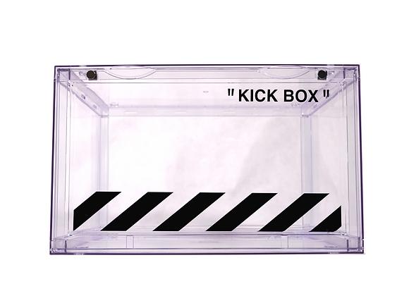 'OFF WHITE DRIP BOX'