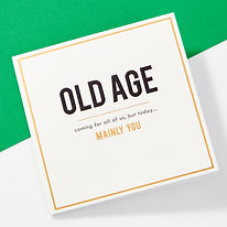 Old Age Card