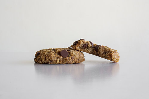 Flawless (flour-less) PB Banana Chocolate Cookies