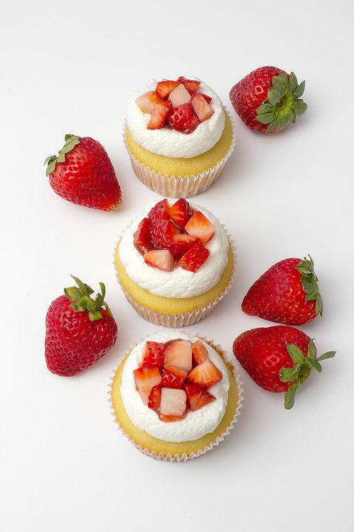 Strawberry ShortCUPCAKE